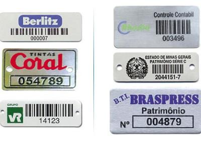 Placas e Etiquetas 1
